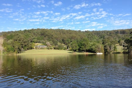 Idyllic paradise 35min from Brisbane city. - Casa