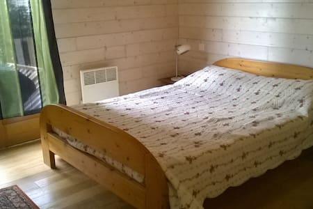 une chambre lit de deux placesl - House