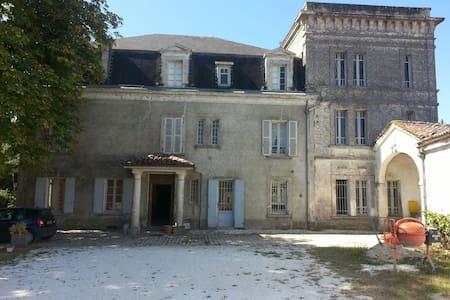 Chambre au château à Cognac - cognac - Şato
