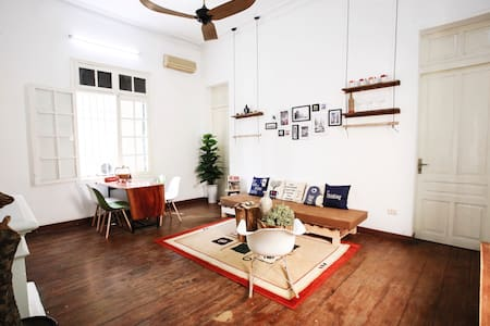 French Colonial Sunny house in center of HaNoi - Hanoi