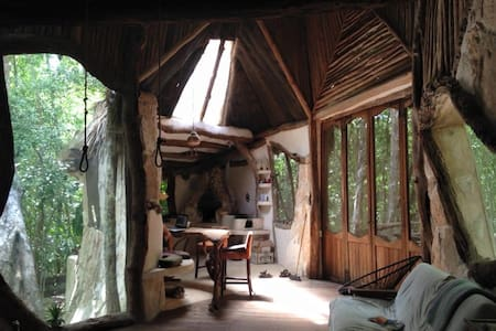 EcoHouse in magical Tulum, Mexico - House