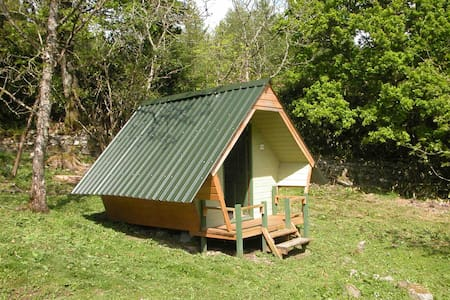 Glamping Pent Hoose (Ash) Sleeping 2 people only - Annat