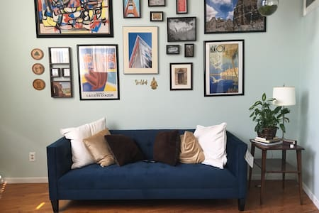 NYC style loft steps from Arena - Columbus - Loft
