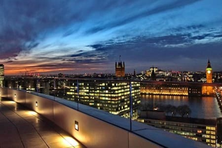Luxury ensuite room with amazing London view - London - Dorm
