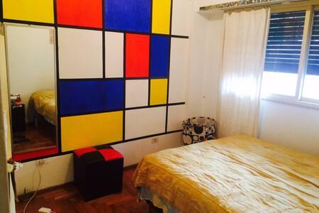 Apartment 2 bedrooms, Balvanera, bright, centric - Apartment