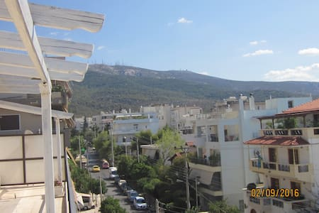 Sokratis houses  penthouse with  view - Papagou - Other