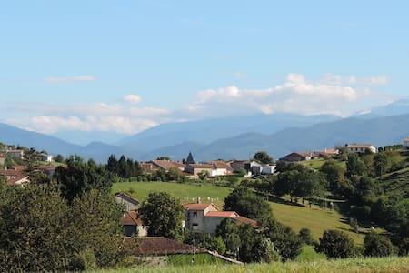 Dans le Parc  naturel des Pyrénées Ariégoises - Betchat - Haus