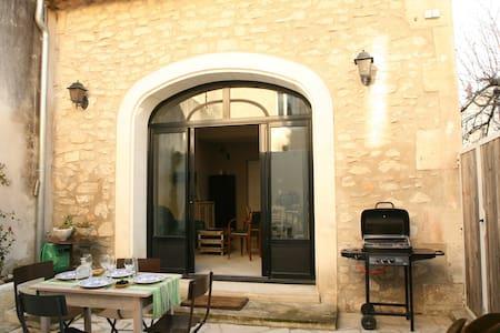 Maison de charme-patio centre ville - Hus