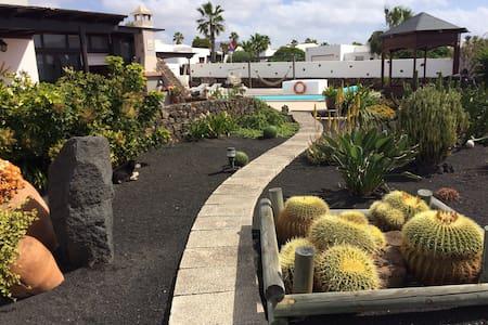 Apartamento con piscina privada. - Playa Blanca
