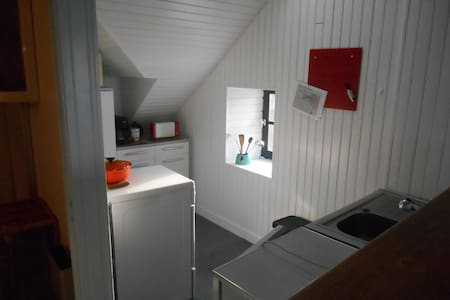 Un petit nid sous les toits - Granville - Apartment