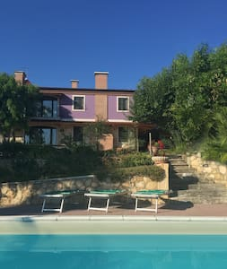 Vineyard Villa with swimming pool  - Vicenza Hills - Lonigo