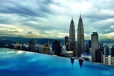 Rooftop Infinity Pool,Cozy Room Near KLCC - Kuala Lumpur - Appartement