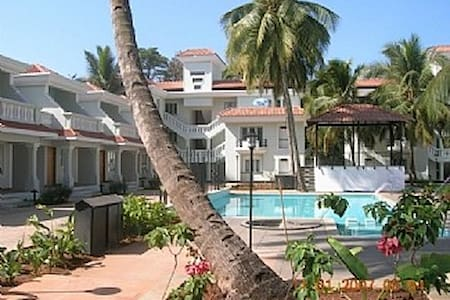 Excellent apartment with pool @Goa! - Benaulim - Apartment