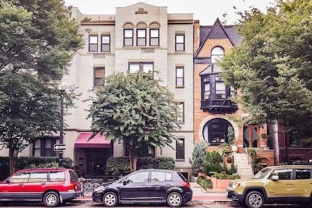 Spacious 1BR Dupont Circle 17th St - Washington - Apartment