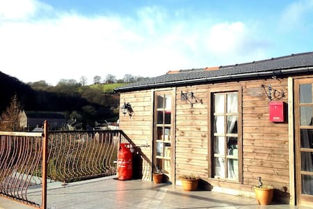 The Cwtch Lodge - Bargoed - Chalé
