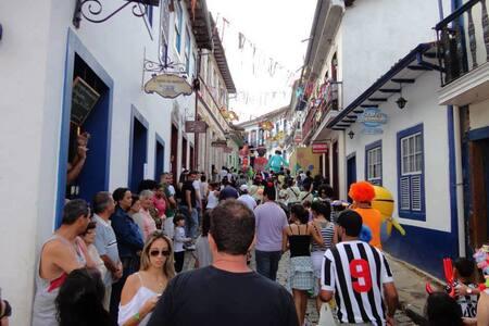Hospedagem Carnaval/Carnival 2017 Ouro Preto - Ouro Preto