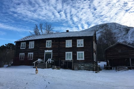 Cozy room in an organic farm. Room 1. - Oppdal - Rumah