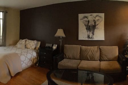 Studio fully furnished w/parking - Apartment