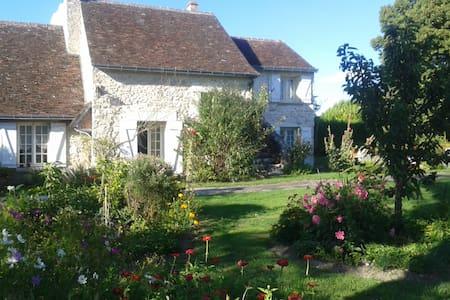 Longère tourangelle avec jardin - Haus