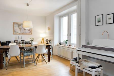 Charming room in apartment/Wiedikon - Lägenhet