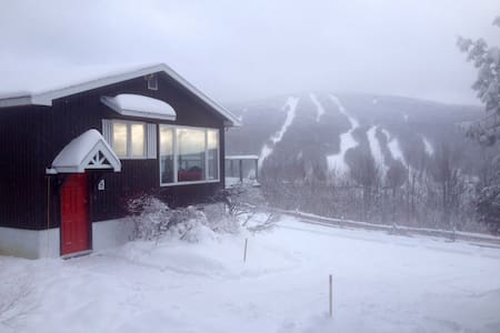 Cottage with a beautiful view of the mountains - Bolton-Ouest - Almhütte
