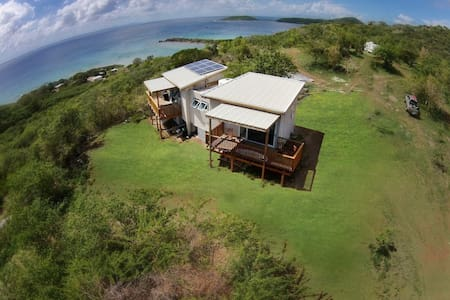 Private Off the Grid Hilltop Port Apt - Culebra