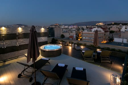 Central Luxury Apartment / Acropolis View&Jacuzzi - Apartmen