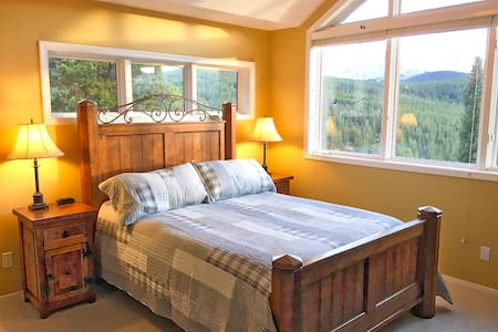Master Bedroom. Private Bath. Amazing Views. Bus - Breckenridge - Maison