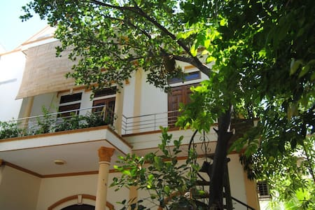 Moon House -M- house surround with tropical garden - tp. Nha Trang - Pis