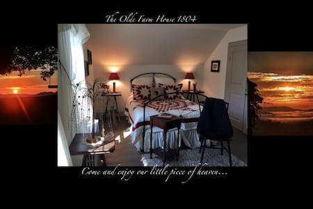 The Olde Farm House 1804 in Vermont - Danville
