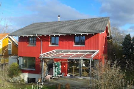 neues Holzhaus - Hofstetten-Flüh - House