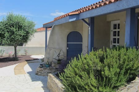 Maison individuelle dans village typique de l'Aude - House