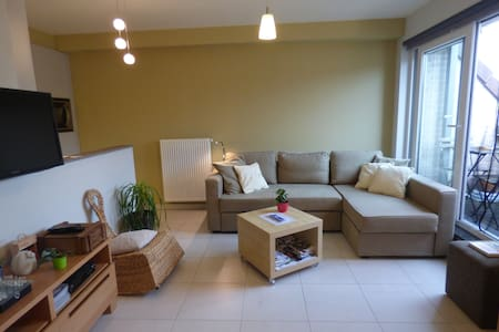 Flat near Gent&Bruges with parking - Wohnung