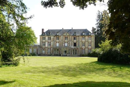 Chambre d'hôtes dans un chateau au nord de Rouen - Slott
