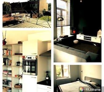 Charme appartement in Eikevliet - Leilighet