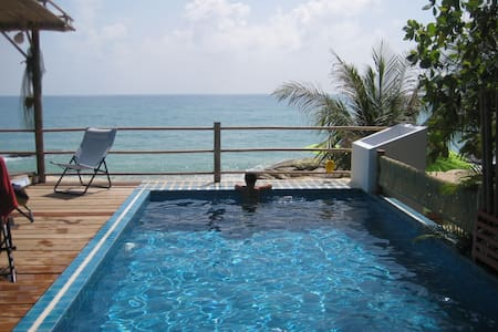 SEAVIEW COCOBEACHCABANA/PRIVATE POOL/BEACHFRONT . - Lamai Beach