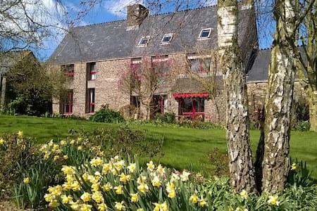 Chambre indépendante à la ferme de Créac'h Gourles - Appartement