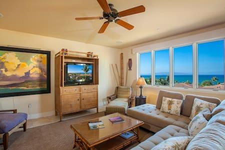 Wailea Beach Villa 2 bedroom + den! Amazing Views! - Villa