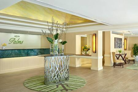 New listing in Aqua Palms Hotel with FREE Wifi! - Honolulu - Condominium