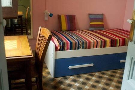 Habitación, dos camas, en el Borne