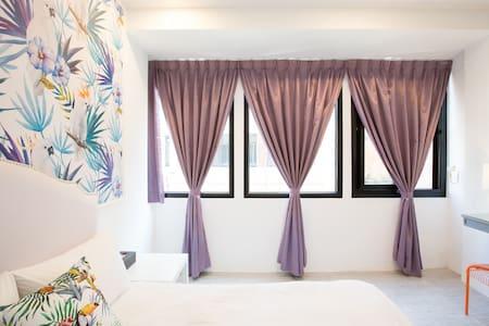 熱帶林雙人房-竹山老街 - 南投縣 - Bed & Breakfast
