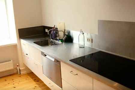Big room in a big flat - Frederiksberg - Apartment