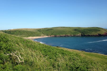 Glamping at Park Farm, Manorbier - Tenby - Tent