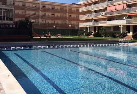 Beach appartment with nice swiming pool - Malgrat de Mar - Apartamento