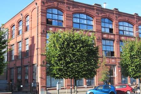 Industrial loft in downtown Roubaix - Roubaix - Appartamento