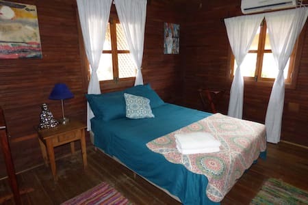 Local Colour Guest house: Private Room w/Balcony - Bocas del Toro Province
