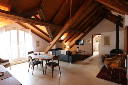 70sqm Attic-Luxury apartment in SPA quarter - Baden - Lägenhet