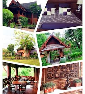 Northern Thai Teak Wood House - House