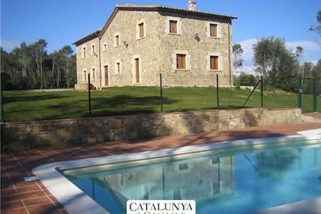 Espaciosa Mansión Catalana en Banyoles, a 35Km de la costa mediterránea - Girona - House