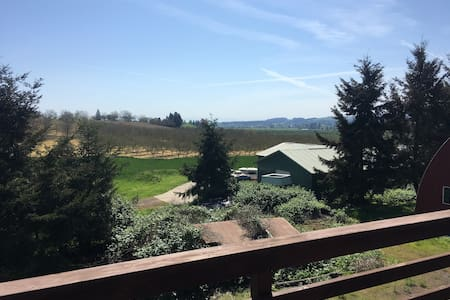 Wine Country Horse Barn with Spectacular Views - Ház
